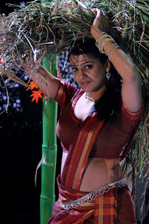 tashu koushik  Pictures in half saree 011.jpg