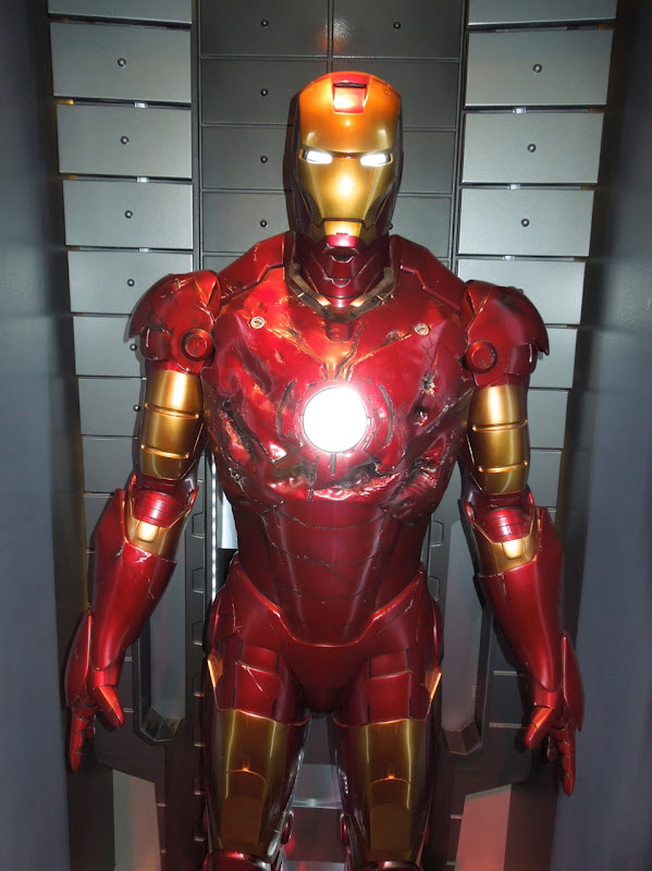 Battle damaged Iron Man mark III costume