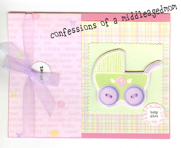 baby shower handmade card ideas let 39 s celebrate