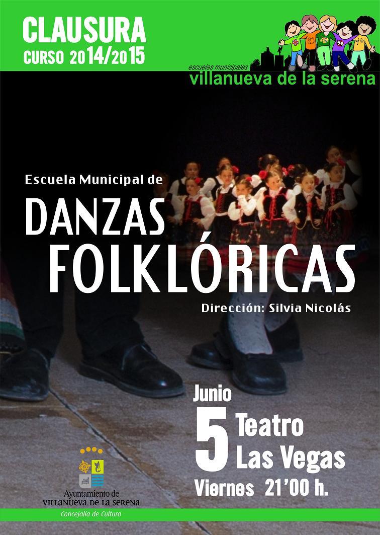 Clausura Escuelas Municipales de Danzas Folclóricas