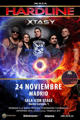 Hardline + Xtasy en Madrid