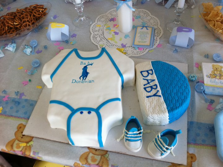 Donovianu0027s Polo Baby Shower Cake