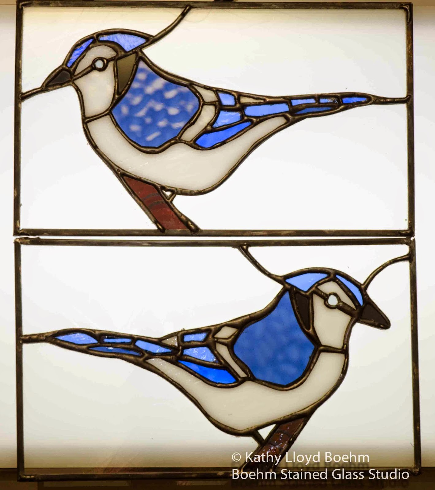 boehm stained glass blog stained glass backyard wild birds 2