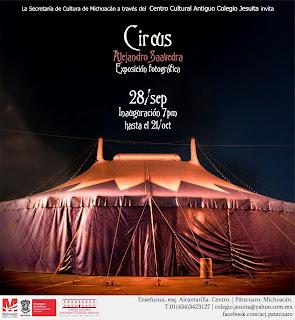 Exposición CIRCUS en Centro Cultural Antiguo Colegio Jesuita