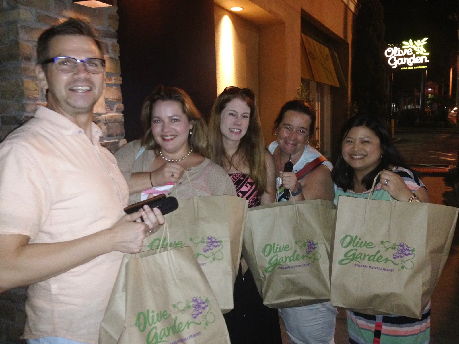once upon a run olive garden tasting event