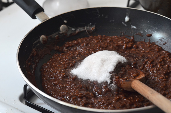 [Filipino Recipes] Champorado - Chocolate Rice Pudding ...