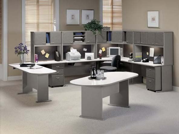 Luxury office furniture modern home minimalist for Modern home office furniture