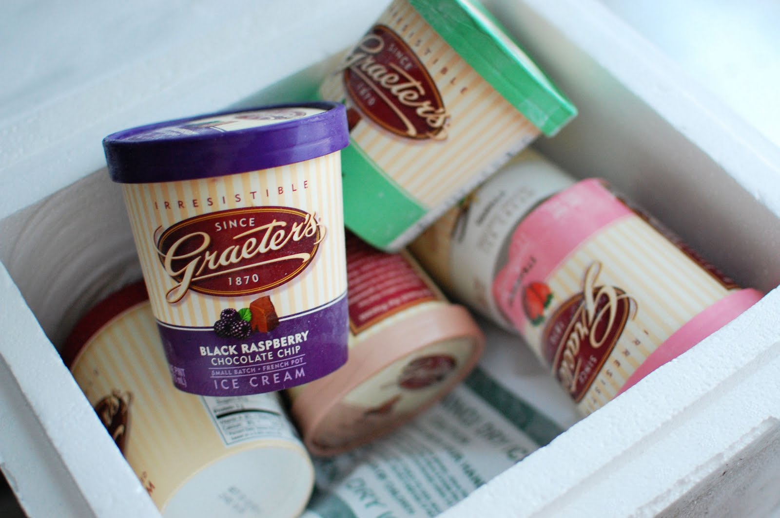 Graeter's Ice Cream Party and a Giveaway | Beantown Baker