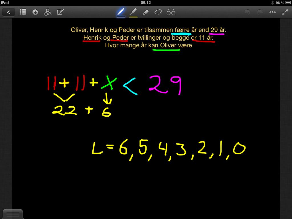 regnestykker for 5 klasse