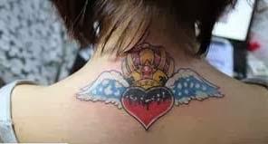Tatuagem para menina