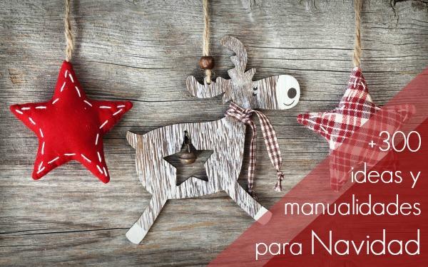 Recursos ideas diy y manualidades para navidad lluvia de ideas - Ideas decoracion navidad manualidades ...