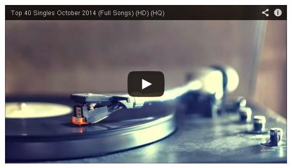 Top 40 Singles October 2014