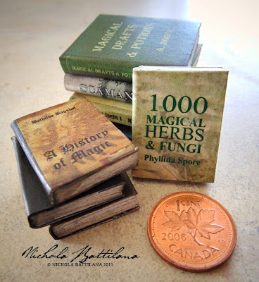 Miniature Hogwarts Textbooks - Nichola Battilana