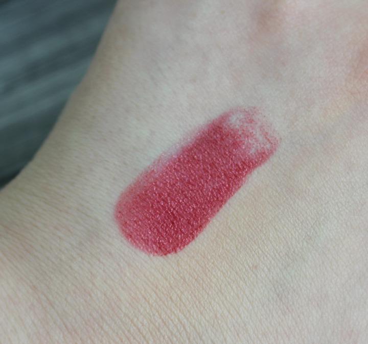 COVERGIRL Outlast Longwear + Moisture Lipstick in 950 - Plum Fury swatch swatches