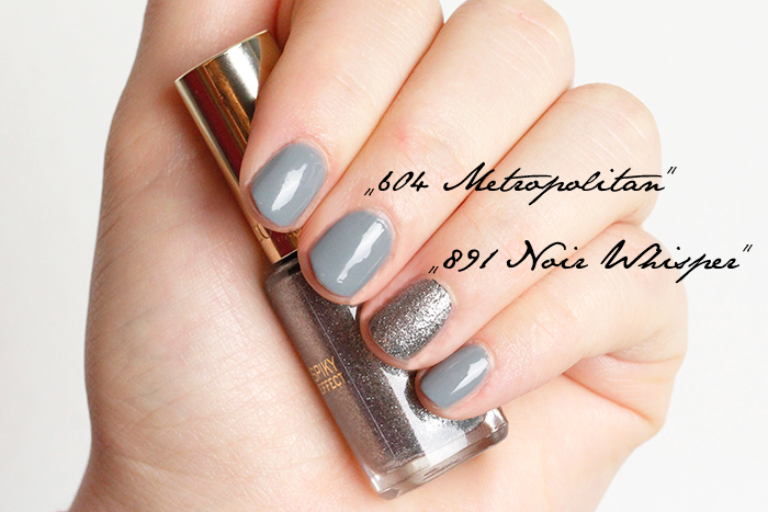 Shades of Grey Nail Polish by L'Oreal Swatches