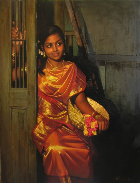 Paintings of Dravidian Women7