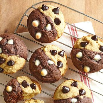 g teau au chocolat meilleures recettes de muffins pour un petit d jeuner. Black Bedroom Furniture Sets. Home Design Ideas
