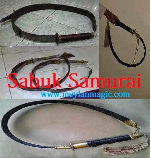 sabuk samurai,sabuk,samurai,pedang,koleksi,unik,antik,paranormal,meylan magic