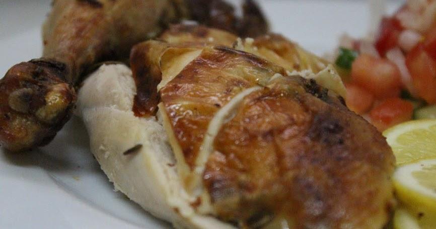 بالفيديو طريقة عمل الدجاج المشوي بالزبدة والروزماري