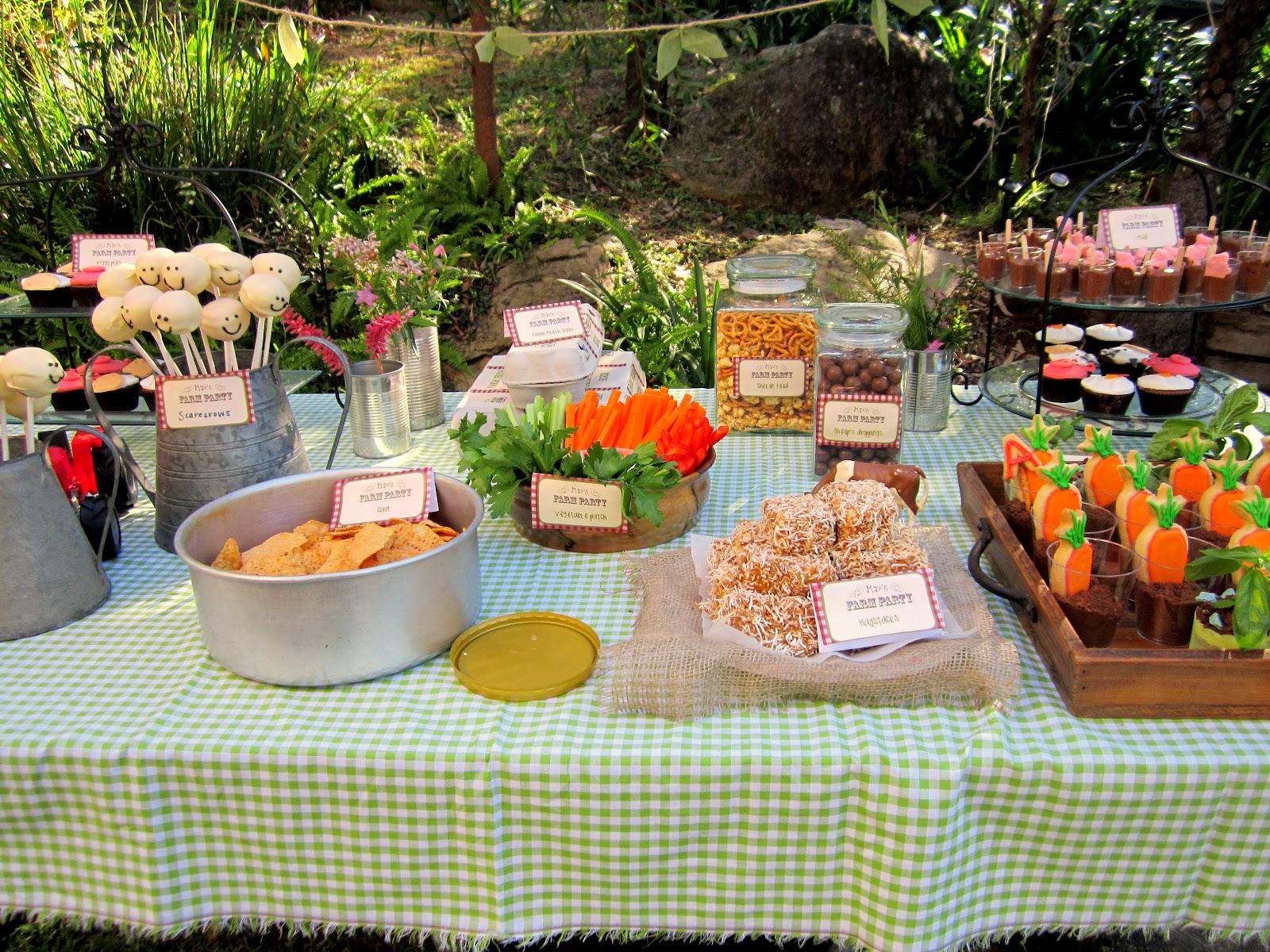Farm Party Food Ideas