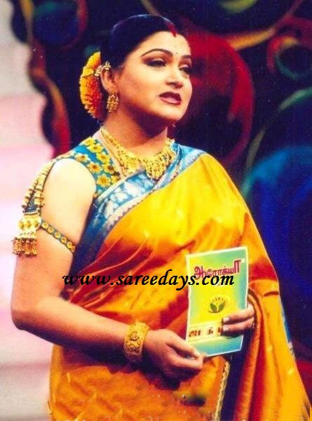 Kushboo Jackpot Blouse Designs 43