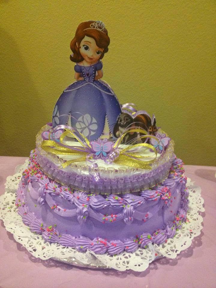 Tortas Princesa Sofia, parte 2
