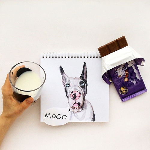 16-Moo-Valerie-Susik-Валерия-Суслопарова-Cats-and-Dogs-Interactive-Animal-Drawings-www-designstack-co