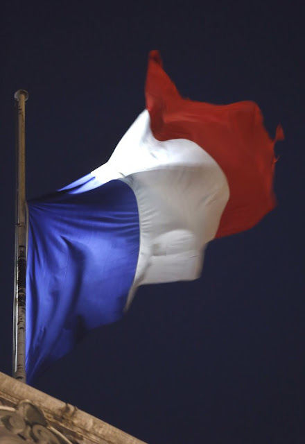 French Flag in Facebook profile Pictures