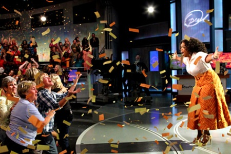 season   of The Oprah Winfrey Show will start today on SABC3 at 17 35Oprah Winfrey Show Set