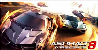 Asphalt 8: Airborne v1.2.0m Mod Money Apk
