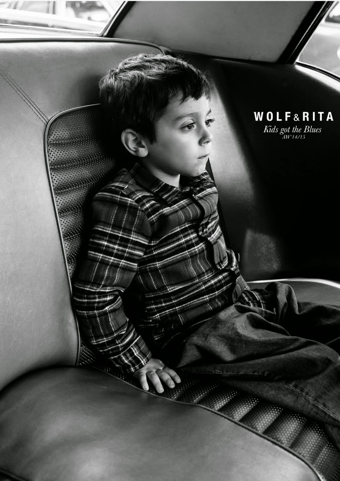 Portuguese flannel for Wolf & Rita Autumn/Winter 2014/15 kids fashion collection