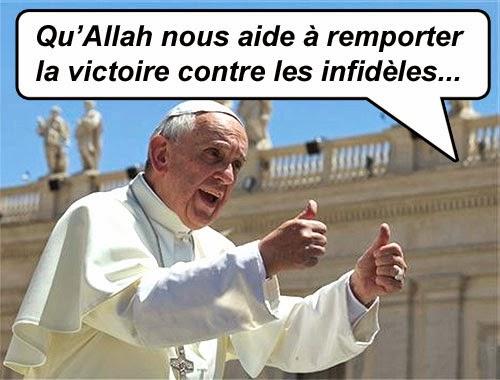 Images et dessins humoristiques - Page 3 Vatican_islam