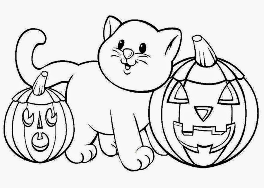 Halloween Coloring Pictures To Print | Free Coloring Pictures