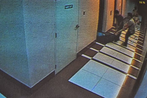 Guillo Cesar Servando the Hazing Victim Dragged Out of Elevator Caught on CCTV Cam