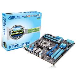 Asus p7h55-m/ br i7, i5 e i3 16 gb ddr3