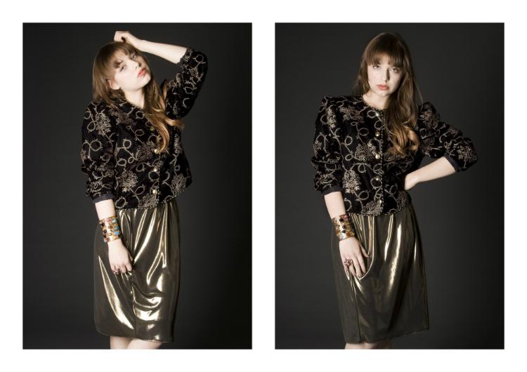 shooting myberlinfashion jasmin model vintage fashion