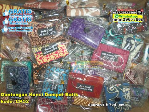 Gantungan Kunci Dompet Batik jual
