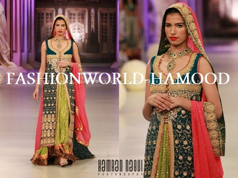 Tabassum mughal at pantene bridal couture week 2012 for Couture meaning in urdu