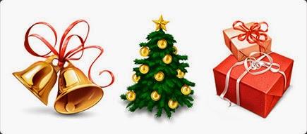 arbol navidad iconos