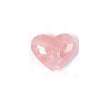 A highly prized pink, translucent stone
