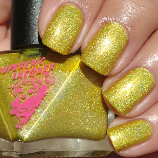 SuperChic Lacquer Electrifried High Voltage