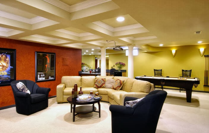 basement interior design best interior