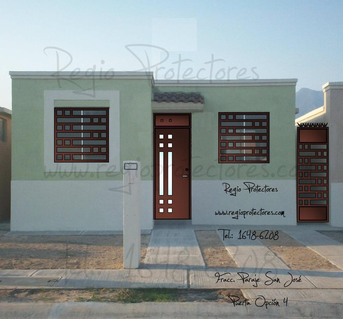 Regio protectores protectores para ventanas y puerta for Diseno puerta principal