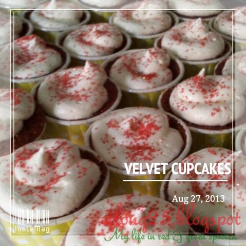 blog along25 red velvet cupcakes harga murah sedap putrajaya terima order