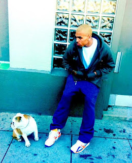 Chris Brown Blonde