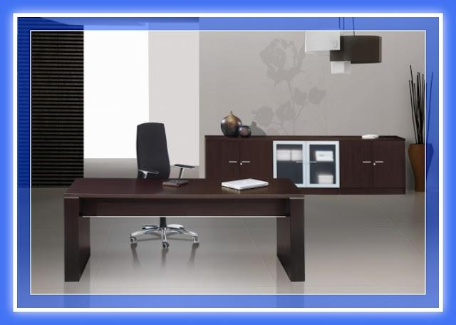 Escritorio pc de melamina madera dise os modernos web - Tableros para escritorios ...