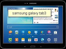 """Samsung GALAXY Tab3 10.1"""""""