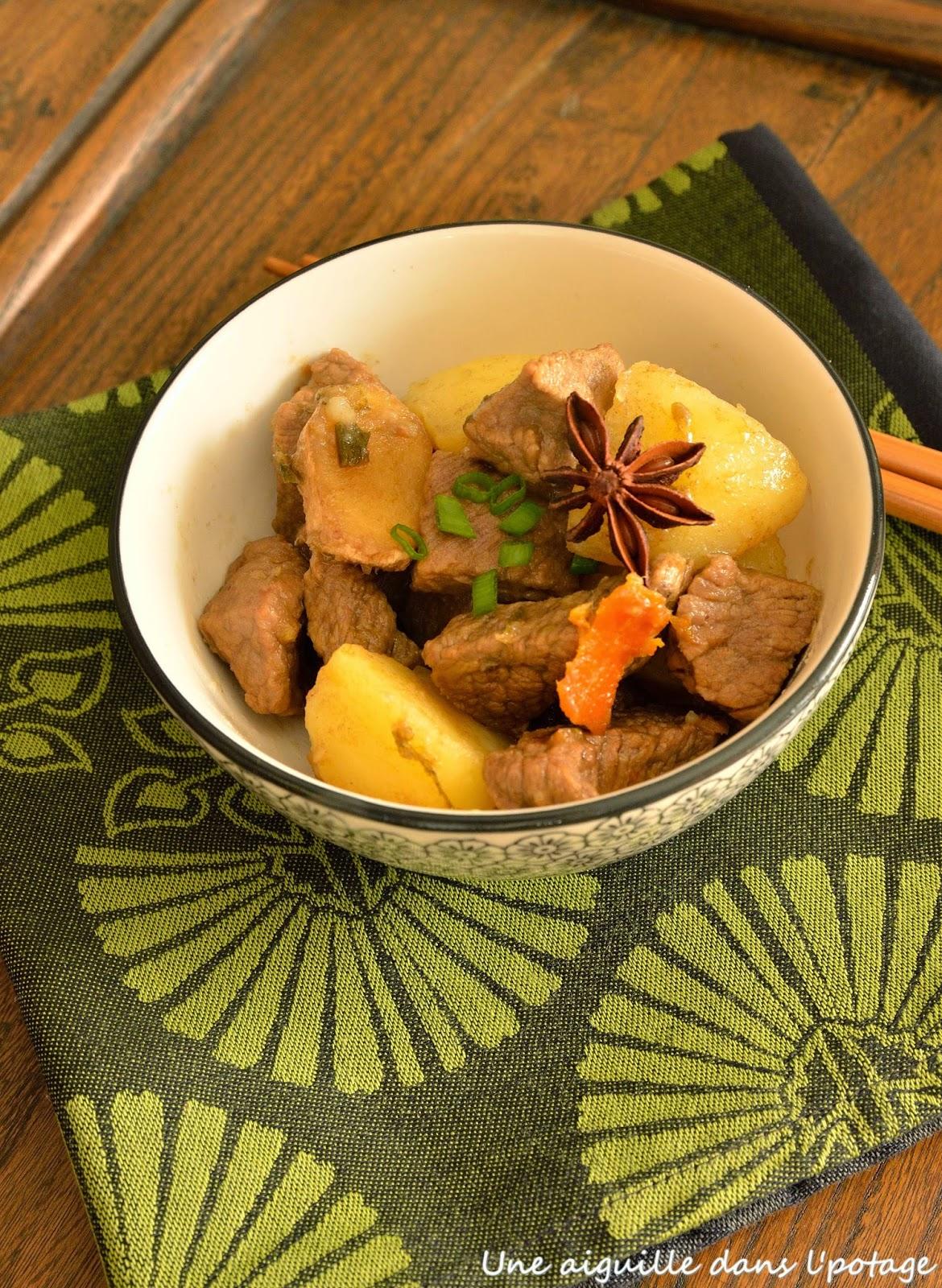 boeuf cuisine asiatique