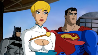 Power Girl's Busty Look in Superman/Batman: Public Review