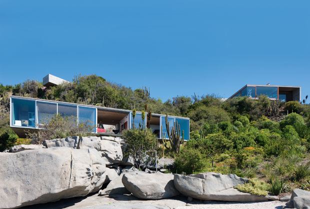 Haus mit grenzenloser Aussicht in Chile